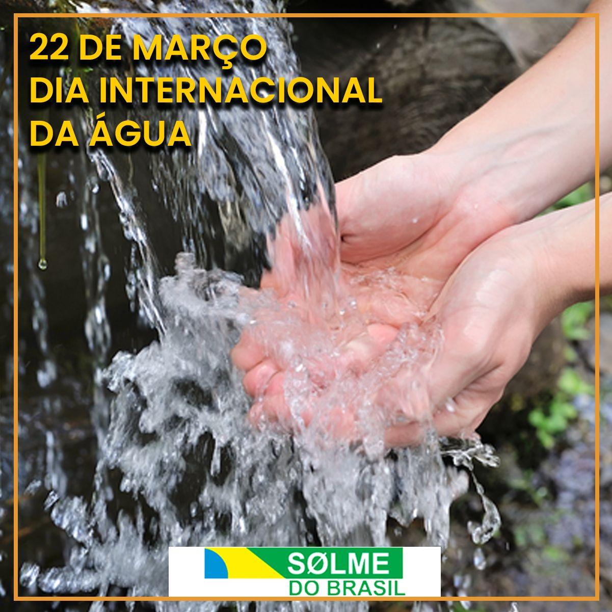 Por que dia 22 de março é o Dia da Água?