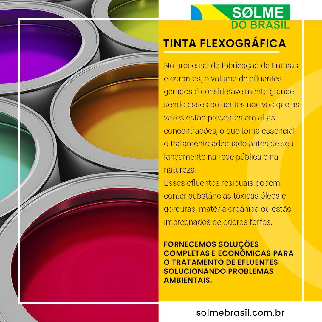 Soluções para tinta flexográfica
